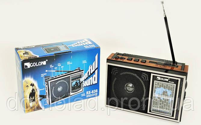 Радиоприемник Колонка MP3 USB Golon RX 635