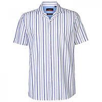 Рубашка Pierre Cardin Reverse Stripe White/Blue - Оригинал