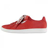 Кеды Puma Vikky Ribbon Ladies Red Coral - Оригинал