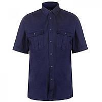Рубашка Pierre Cardin Military Short Sleeve Navy - Оригинал