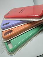 Силиконовый чехол накладка с оригинальным логотипом Apple Silicone Case для iPhone 6 6s Sea Blue, фото 1