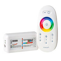 Контроллер BIOM 24А RF сенсорный Белый 12В RGB+W