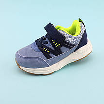 Голубые кроссовки на мальчика тм Том.М размер 21,22,23,24,25,26, фото 3
