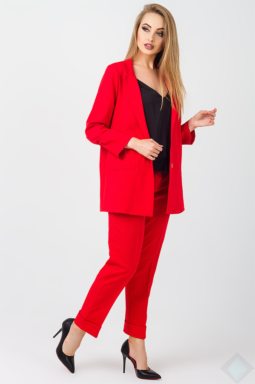 Строгий костюм для деловых встреч с 42 по 48 размеры