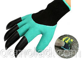 Садовые Перчатки с Когтями Garden Genie Gloves Гарден Джени Гловес