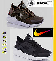Кроссовки мужские Nike Air Huarache - Camouflage and black., фото 1