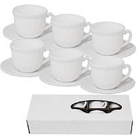 Сервиз кофейный S&T Белый 12 пр 30083-00