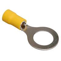 Кабельный наконечник VARGO кольцевой изолированный 1.25-4 под сечение 0.5-1.5кв.мм