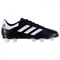 Бутсы Adidas Goletto Firm Ground Black/White - Оригинал, фото 1