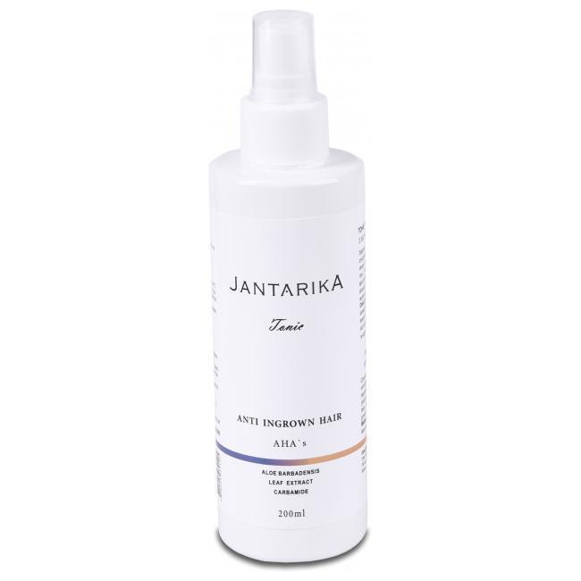 JantarikA / ЯнтарикА Тоник против врастания волос с керамидами и АНА кислотами
