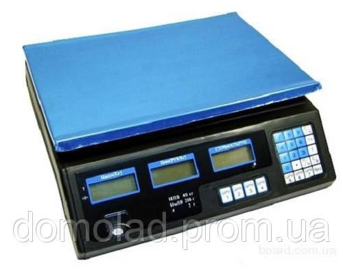 Торговые Электронные Аккумуляторные Весы 208 до 50 кг