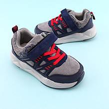Детские серые кроссовки на мальчика тм Том.М размер 28,29,31,32