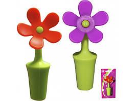 Пробка для бутылки S&T Цветок 20110