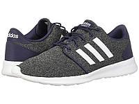 Кроссовки adidas Cloudfoam QT Racer Trace Blue/Footwear White/Raw Grey - Оригинал