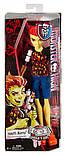 Лялька Монстер Хай Monster High Ghoul Fair Heath Burns Хіт Бернс Шкільний Ярмарок, фото 3