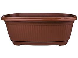 Балконный ящик Флора 45 см 604543 Вг