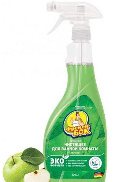 Средство 0,5 л Яблоко для ванной комнаты