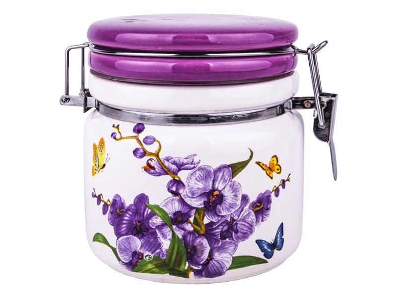 Емкость для сыпучих Interos Орхидея 500 мл 104061-4О