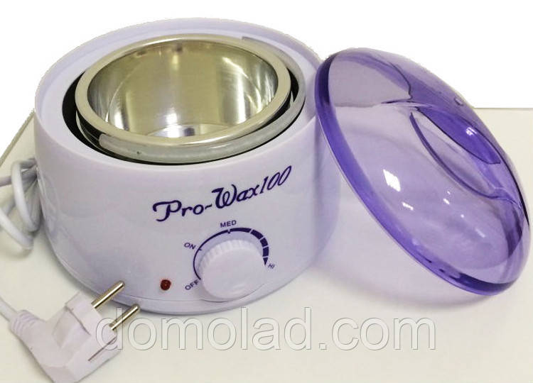 Универсальный Воскоплав Pro-wax 100 для Разогрева Воска в Банках Таблетках Гранулах