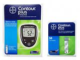 Тест-полоски Contour Plus (Контур Плюс) 50 шт, фото 3