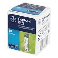 Тест-полоски Contour Plus (Контур Плюс) 50 шт, фото 1