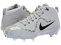 Бутсы Nike Air Trout 4 Pro Wolf Grey/Black/Cool Grey/Dark Grey - Оригинал, фото 1