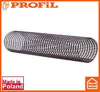 Водосточная пластиковая система PROFIL 130/100 (ПРОФИЛ ВОДОСТОК).Защитная сетка от листьев Levex Tube длина 2м