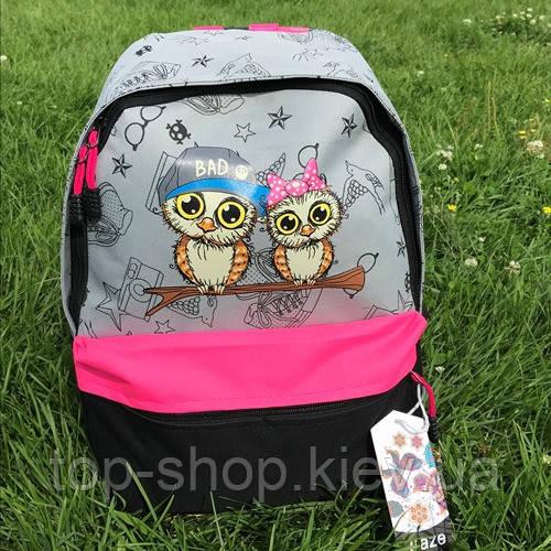 Молодежный рюкзак совы Jiaze