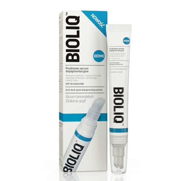 Точечная сыворотка против пигментации Bioliq Dermo Anti-dark Spots Depigmenting Serum SPF 20