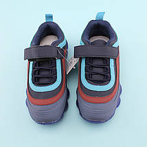 Кросівки на хлопчика рефленая підошва тм Тому.М розмір 34,35, фото 2