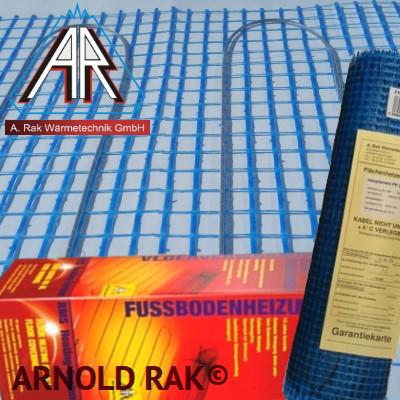 Одножильный нагревательный мат Arnold Rak FHL 2115