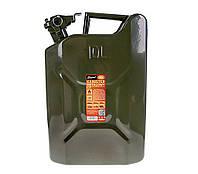Канистра металлическая для бензина Elegant 10 литров