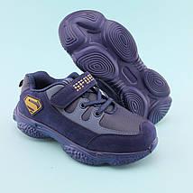 Кроссовки фирменные на мальчика Синие тм Том.М размер 32,34,35, фото 3