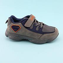 Кроссовки фирменные на мальчика Серые тм Том.М размер 32,33,34,35, фото 2