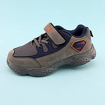 Кроссовки фирменные на мальчика Серые тм Том.М размер 32,33,34,35, фото 3