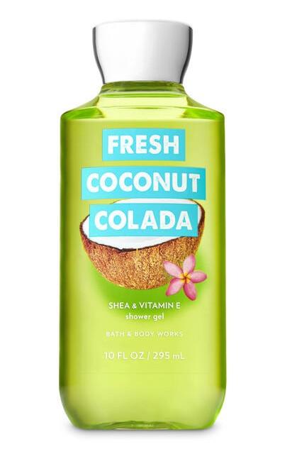 Гель для душа Bath&Body Works Fresh Coconut Colada