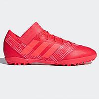 Сороконожки adidas Nemeziz Tango 17.3 Astro Turf Coral/RedZest - Оригинал