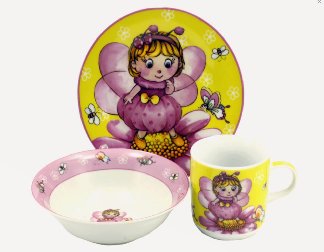 Набор детский 3пр Фея-бабочка С055 Interos
