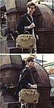 Стильна чоловіча сумка з ручками, фото 4