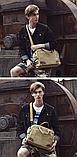 Стильна чоловіча сумка з ручками, фото 9