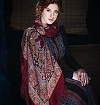 Волшебный танец 1581-7, павлопосадский платок шерстяной с шелковой бахромой, фото 3