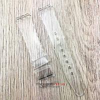 Ремешок для часов Swatch 16x19мм прозрачный (08116) реплика, фото 1