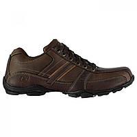 Туфлі Skechers Lace Casual Brown - Оригінал