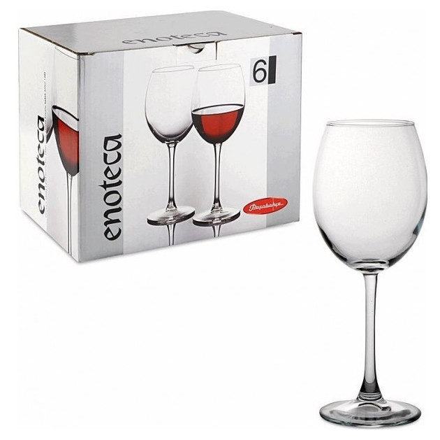 Набор бокалов для вина Pasabahce Enoteca 420мл 6шт 44728