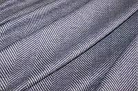 Ткань Ангора софт принт , пог. м., №1335 (елочка спокойный фиолетовый), фото 1