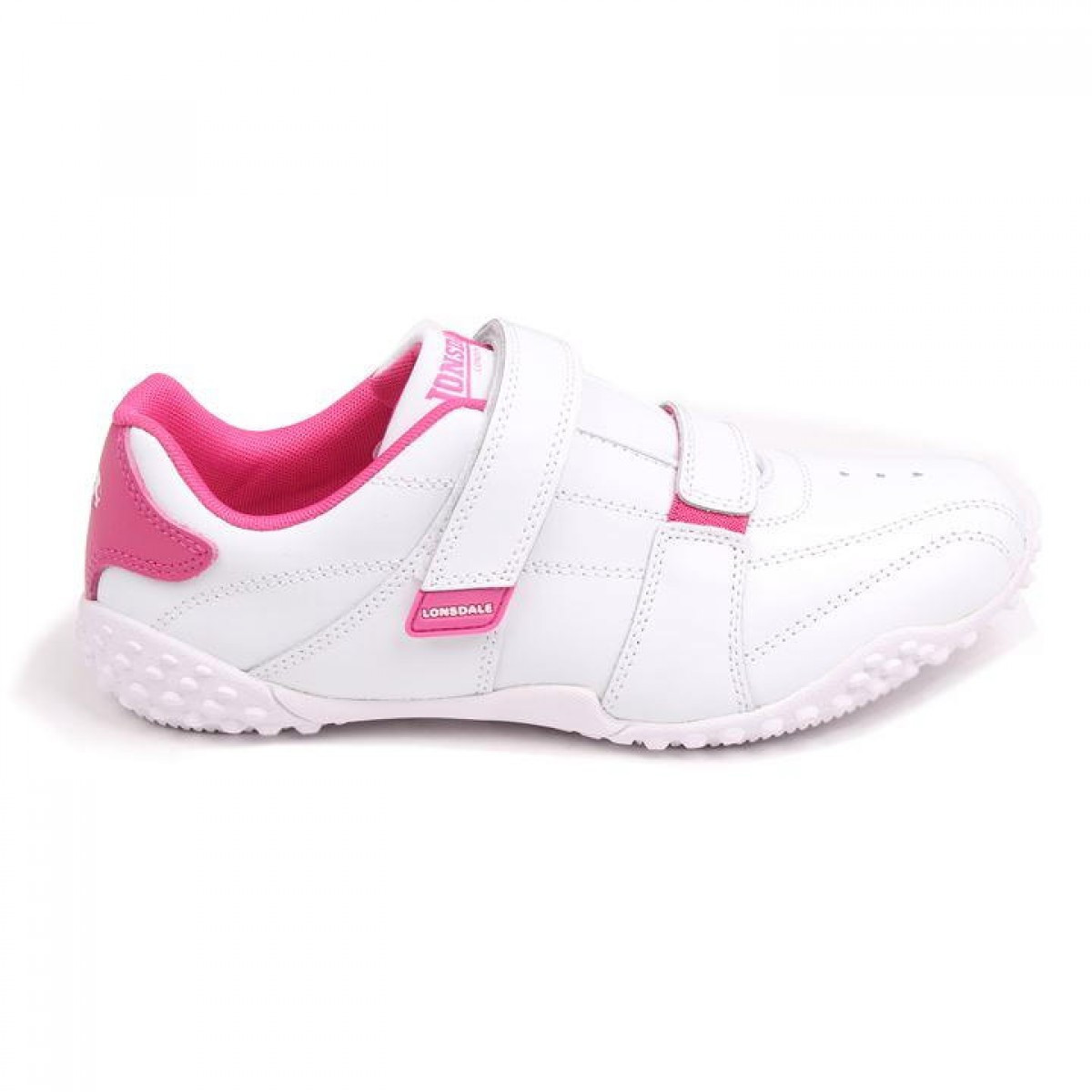 Кроссовки Lonsdale Fulham White/Pink - Оригинал, фото 1