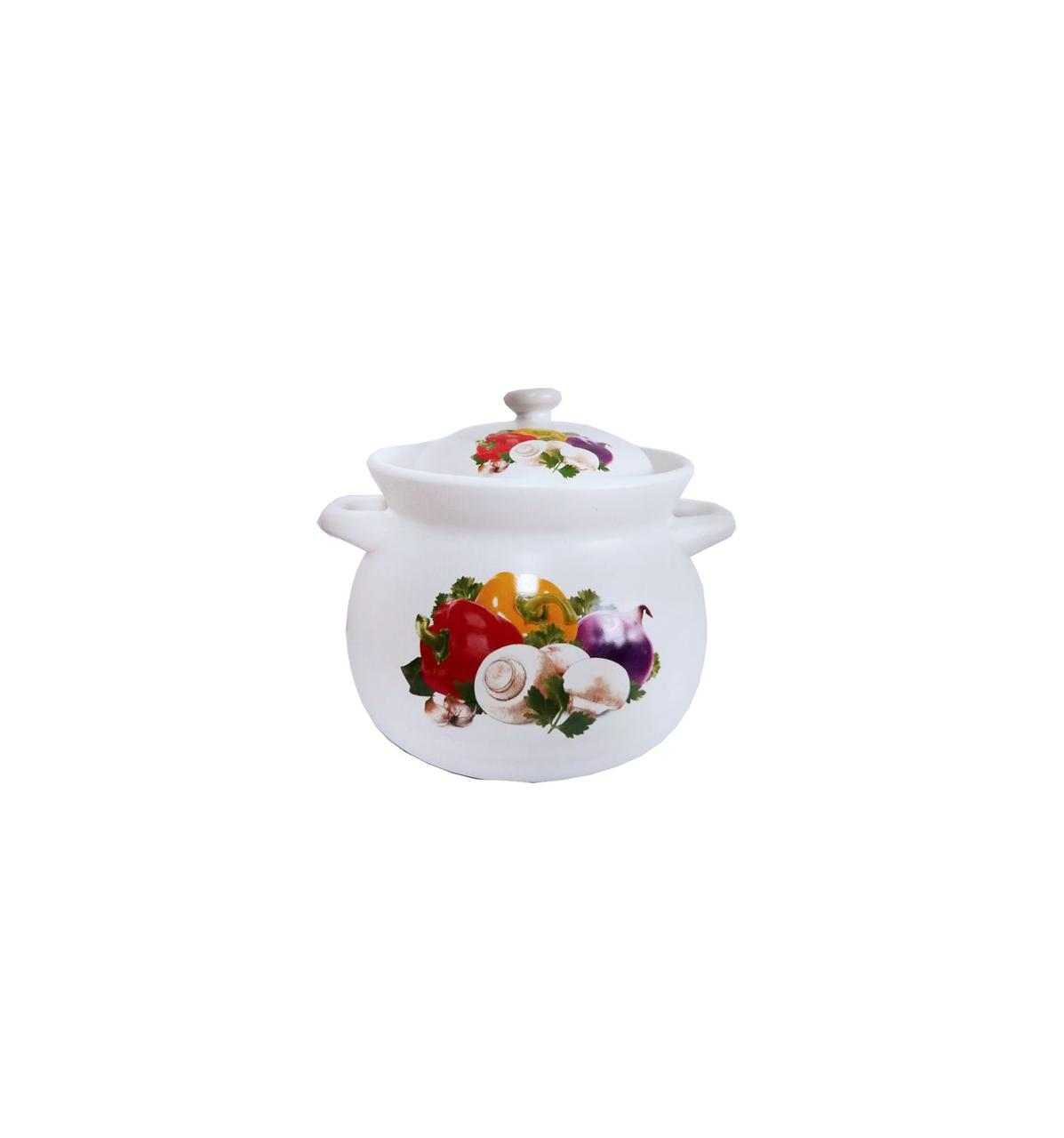Кастрюля 2,75л керамическая Овощи KSH-2.75 VG Interos