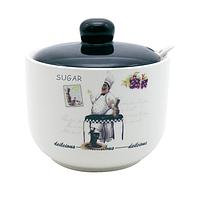 Сахарница 520мл с ложкой Гурман S&T 700-03-10
