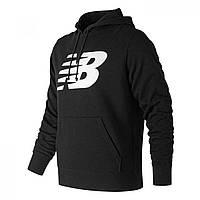 Худи New Balance Large Logo Hood Sn00 Black - Оригинал