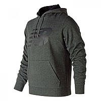 Худи New Balance Large Logo Hood Sn00 Charcoal - Оригинал